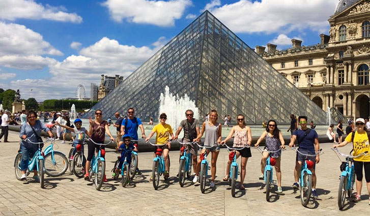 Cycle in the Louvre