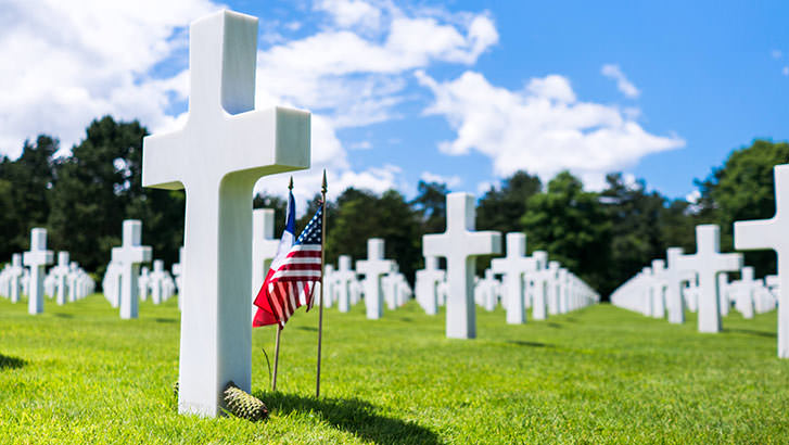 Visit the American Cemetery in Normandy