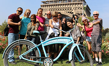 Paris Bike Tour: the Highlights