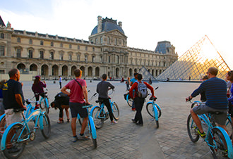 Paris Evening Bike and Boat Tour
